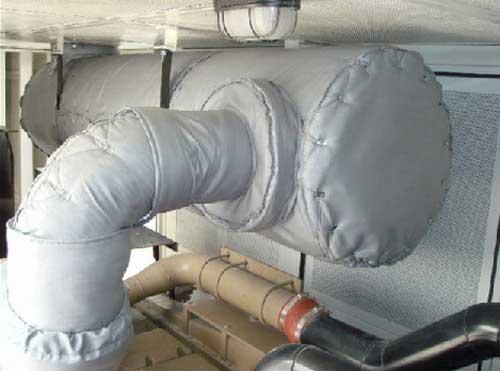 Exhaust Exhaust Insulation